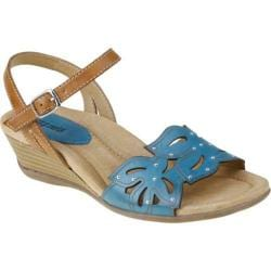 Women's Earth Orchid Shadow Blue Full Grain Leather
