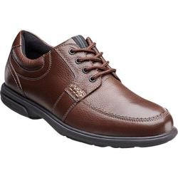 Men's Nunn Bush Carlin 84562 Moc-Toe Oxford with KORE Chestnut Leather