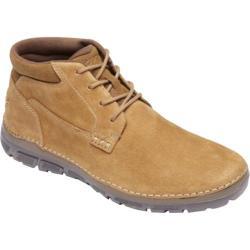Rockport Men's Boots Zonecush Rocsports Lite Plaintoe Tan Leather