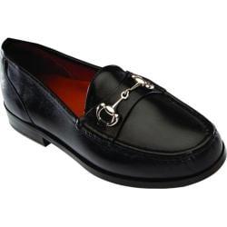 Men's David Spencer La Salle Black Waxy Leather