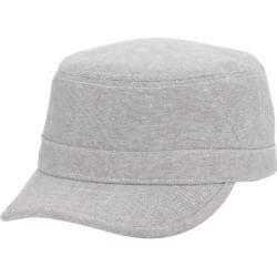 Men's Ben Sherman Stripe Chambray Legion Cap Grey