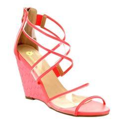 Women's Da Viccino Estina-1 Wedge Sandal Coral