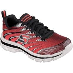 Boys' Skechers Nitrate Training Shoe Red/Black