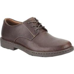 Men's Clarks Stratton Way Brown Leather