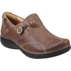Women's Clarks Un.Loop Taupe Leather