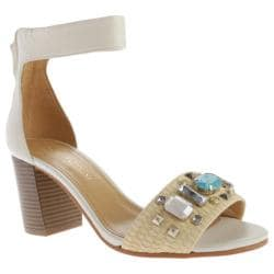 Women's Enzo Angiolini Gavenia White/Natural Leather