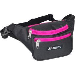 Everest Signature Black/Hot Pink Waist Pack (Set of 3)