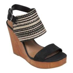 Women's Lucky Brand Lapaloma Natural/Black Fabric/Leather