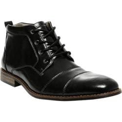 Men's Steve Madden Jayy Boot Black Leather