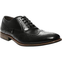 Men's Steve Madden Jetway Wingtip Black Leather