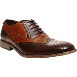 Men's Steve Madden Jetway Wingtip Brown/Tan Leather