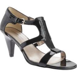 Women's Bandolino Dacia Heels Black Multi Fabric