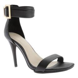 Women's Calvin Klein Sable Sandal Black Leather