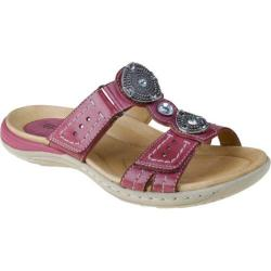 Women's Earth Papaya Raspberry Full Grain Leather