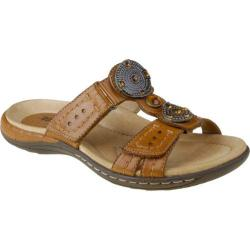 Women's Earth Papaya Sand Brown Full Grain Leather
