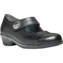 Women's Propet Antonia Mary Jane Black Full Grain Leather