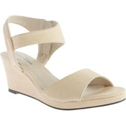 Women's Michael Antonio Giota Wedge Natural Polyurethane