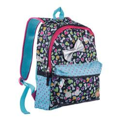 Skechers Twinkle Toes Bow and Leopard Heart Backpack
