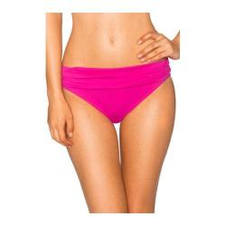 Women's Sunsets Banded Bottom Berry