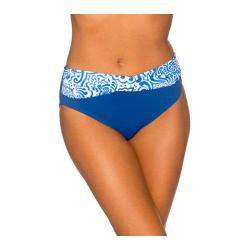 Women's Sunsets Twist High Waist Blue Grotto