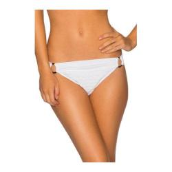 Women's Swim Systems Shirred Banded Hipster Bottom with Rings New Wave