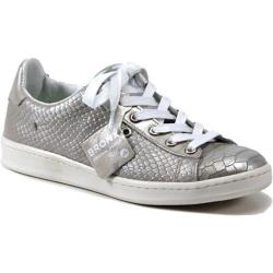 Women's Bronx Bling Ring Silver Snakeprint Leather