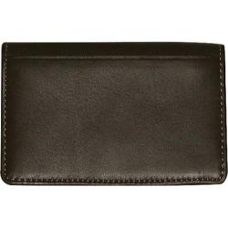 Men's Dopp Regatta Deluxe Card Case Mahogany