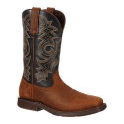 Durango Men's Boots Western Rebel Tan/Black Leather