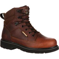 Men's Georgia Boot GB00034 6in Composite Toe Glennville Brown Leather Cordura