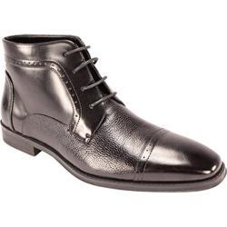 Men's Giorgio Venturi 6475 Black Leather