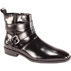 Men's Giorgio Venturi 6480 Black Leather