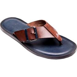 Men's Giovanni Marquez M5017 Fib Sandal Brown/Navy Leather