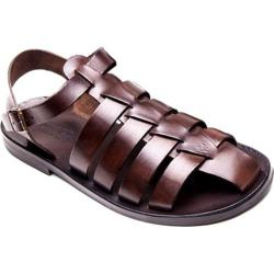 Men's Giovanni Marquez M5047 Sandal Dark Brown Leather
