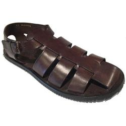 Men's Giovanni Marquez M5518 Sandal Dark Brown Leather