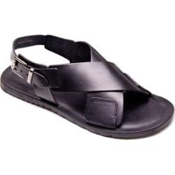Men's Giovanni Marquez M6684 Sandal Black Leather