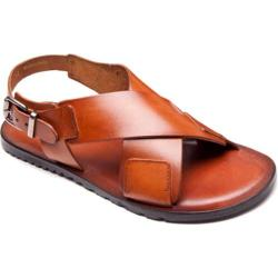 Men's Giovanni Marquez M6684 Sandal Brown Leather