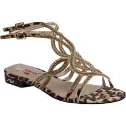 Women's Luichiny Ches Ley Sandal Leopard Imi Suede