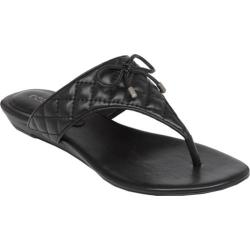 Women's BCBGeneration Alice Sandal Black Quilted PU