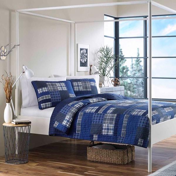 Eddie Bauer Eastmont Cotton Reversible 3-piece Quilt Set 12661085