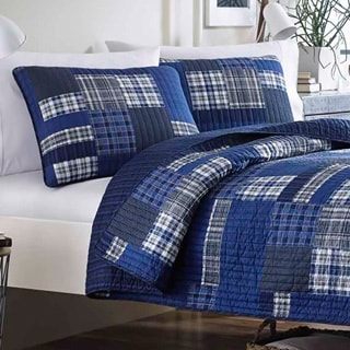 Eddie Bauer Eastmont Cotton Reversible 3-piece Quilt Set