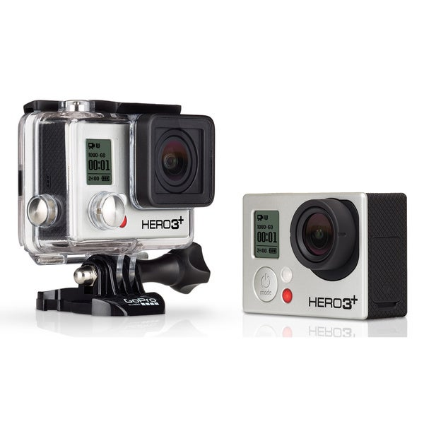 GoPro Hero3+ Black Edition Action Camera w/ 12MP Camera & Built-In Wi-Fi