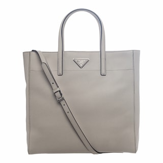 Prada Soft Saffiano Leather Powder Tote Bag