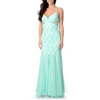 Morgan & Co. Juniors Lace and Tulle Dress