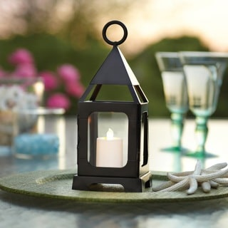 Sarah Peyton Decorative Lantern w/Flameless LED Candle - Small