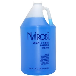 Nairobi Wrapp-It Shine Foaming 128-ounce Lotion