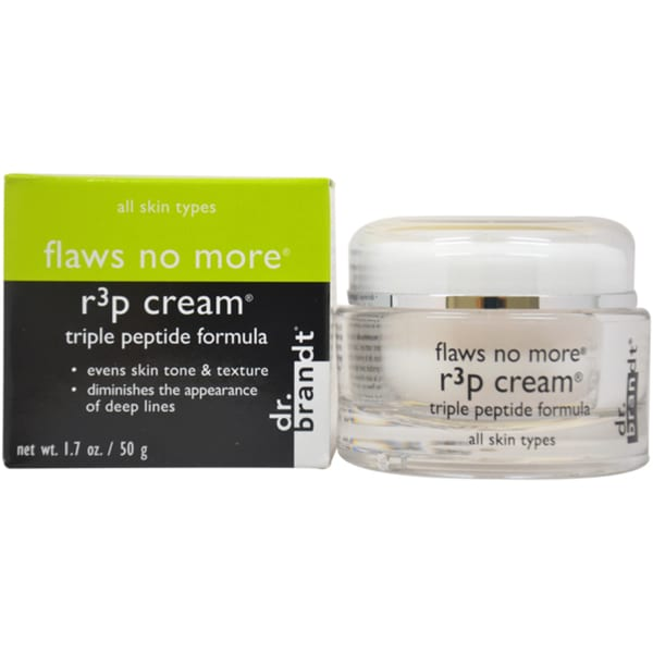 Dr. Brandt Flaws No More R3p Triple Peptide 1.7-ounce Cream