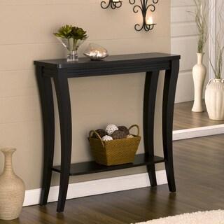 Furniture of America Anjelle Contemporary Open Shelf Cappuccino Finish Sofa Table