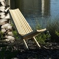 Chair X36 Pine Wood Outdoor Patio Chair