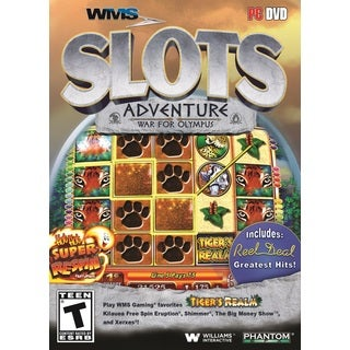 WMS Casino Gaming Slots: War for Olympus PC DVD