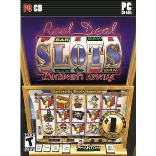 REEL DEAL Casino Gaming Slots: Blackbeard's Revenge PC DVD